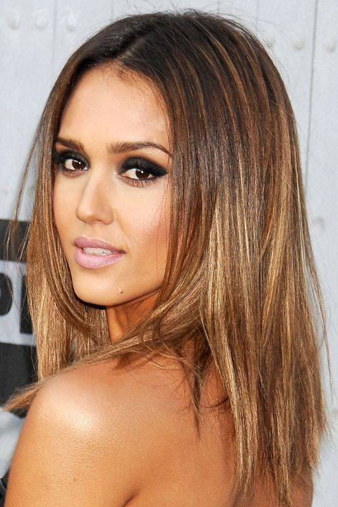 Jessica Alba Light Brown Hair Color