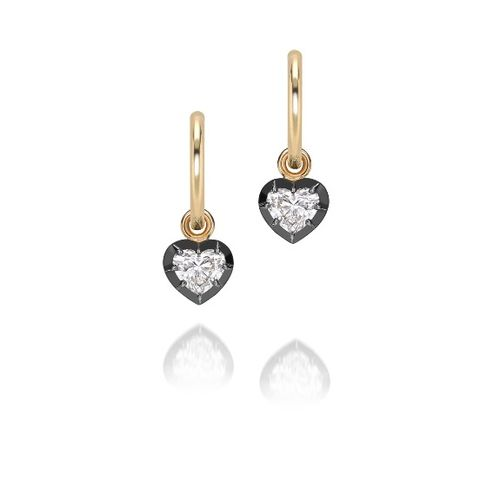 jessica mccormack diamond heart earrings