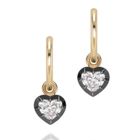 jessica mccormack button back diamond earrings