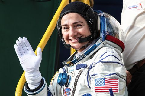 astronaut jessica meir, along with astronaut christina koch, conducted the first all female spacewalk in 2020