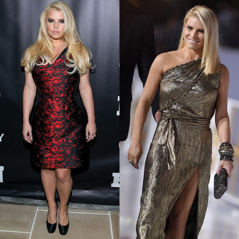 Jessica Simpson Keeps The Weight Off: 6 Celebs Who Lost A Ton On Weight Watchers