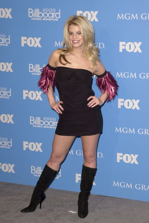 Jessica Simpson - Billboard Music Awards Outfits