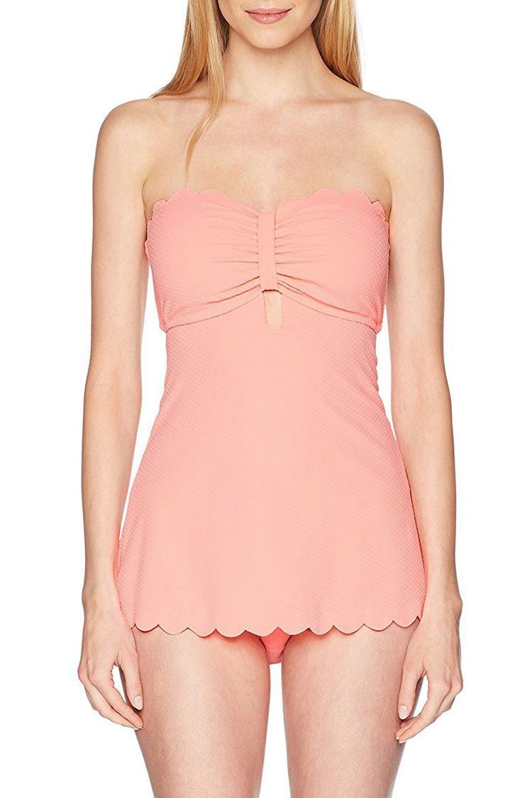 jessica simpson retro pink dress swimsuit