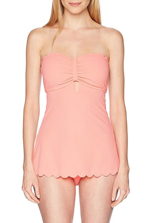 jessica simpson retro pink dress swimsuit