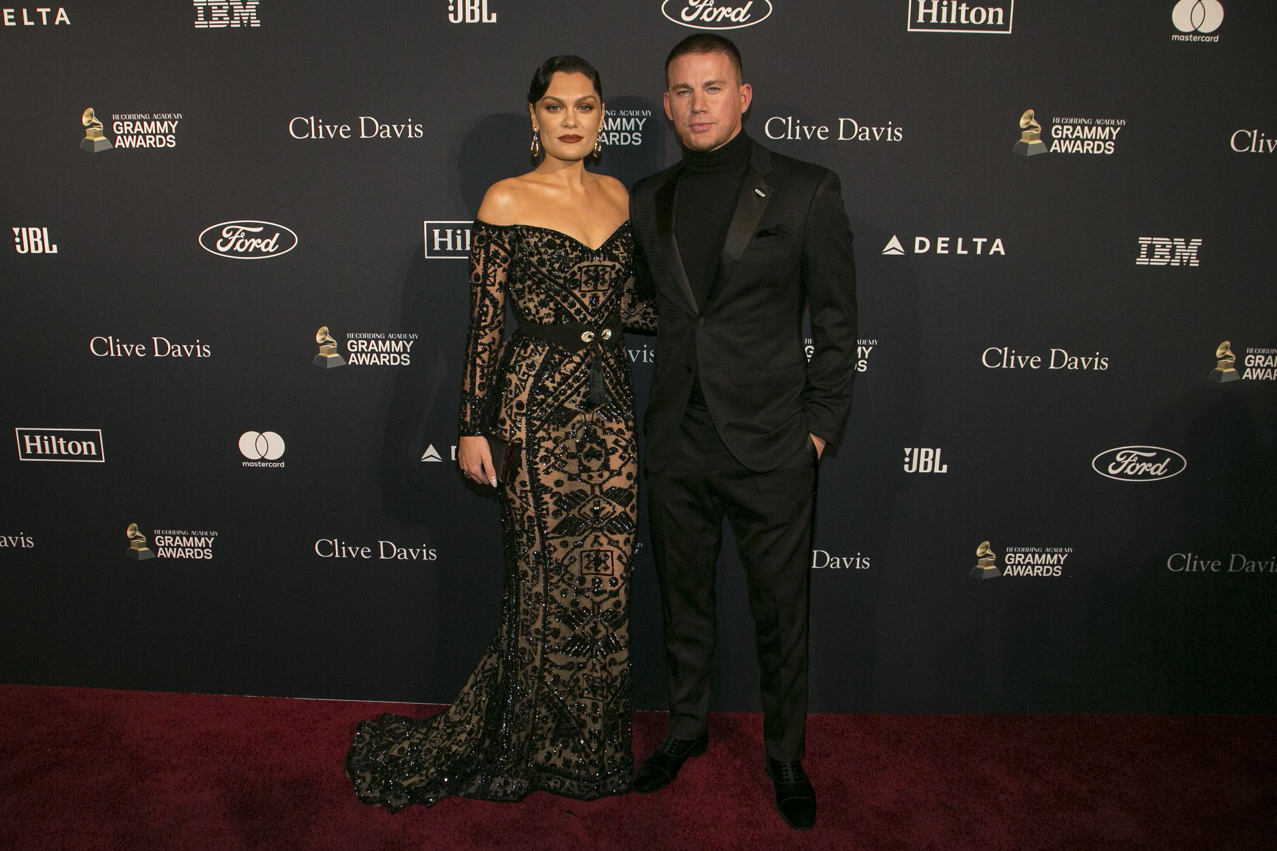 Newly Reconciled Couple Jessie J and Channing Tatum Made Their Red Carpet Debut