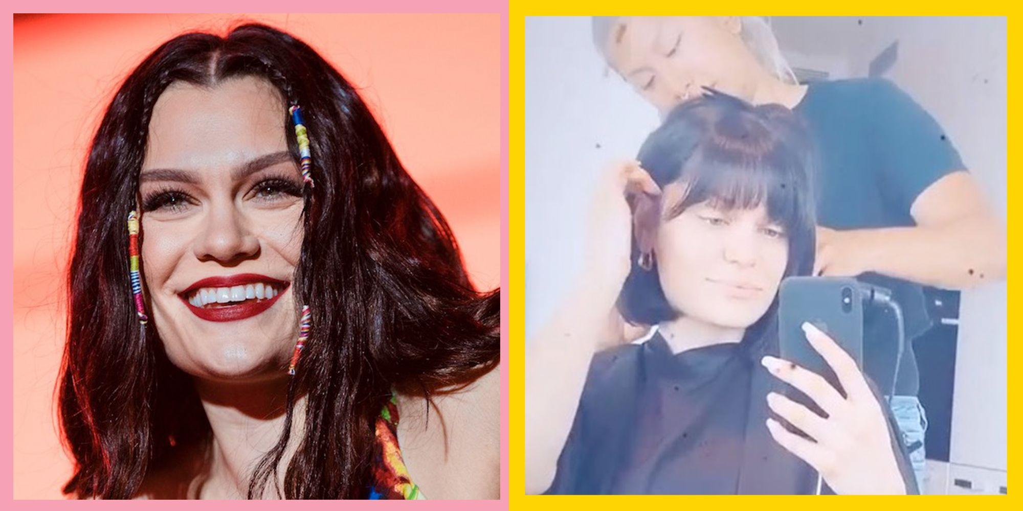 Jessie J Just Got A Blunt Fringe Cut In Circa Do It Like A Dude