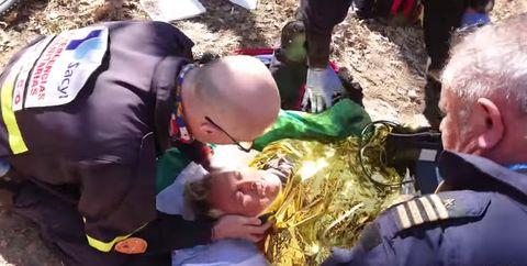 Jesús Calleja accidente