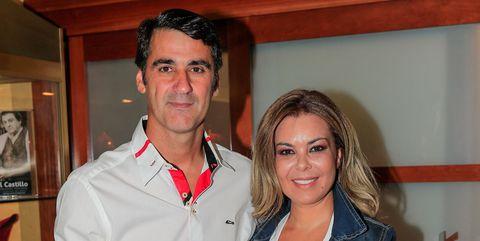 María José Campanario y Jesulín en su vuelta a los ruedos