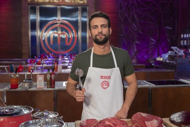jesus castro en las cocinas de masterchef celebrity 5