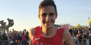 Jesús Olmos, el frutero runner que es nuevo campeón de España de 10km en ruta
