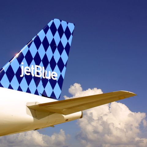 JetBlue Airlines in Ft. Lauderdale, Florida.