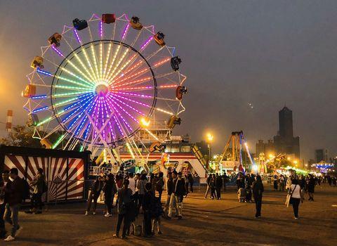桃園青埔景點1!歐美主題樂園「jets嘉年華」99開園,超過30項遊樂設施、夜市美食進駐