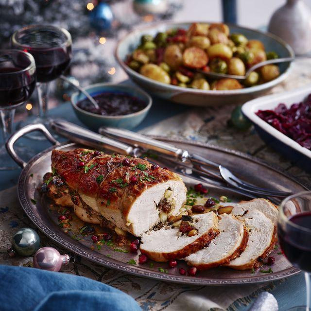 best turkey recipes jewel stuffed turkey breast