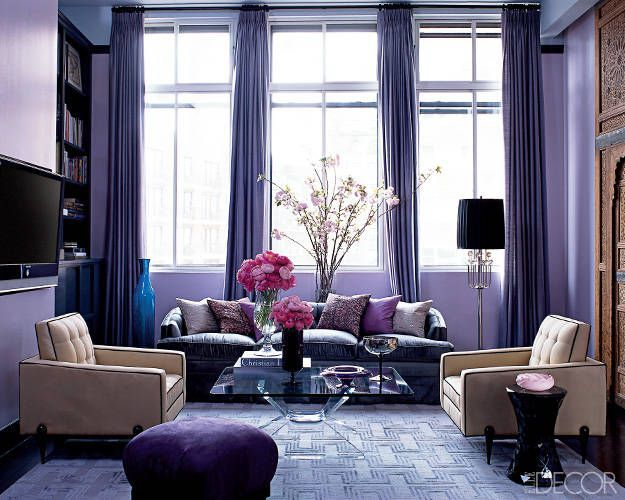 10 best purple paint colors for walls pretty purple paint shades rh elledecor com purple rooms paint colors purple interior paint colors