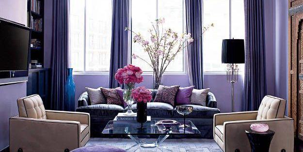 Blue And Purple Living Room Colors 10 best purple paint colors for walls - pretty purple paint shades