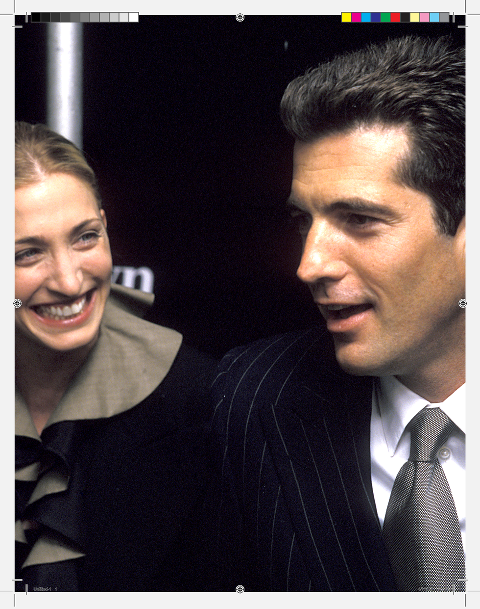 Kennedy and Carolyn Bessette were married in the fall of 1996 without most of the George staff knowing about it.