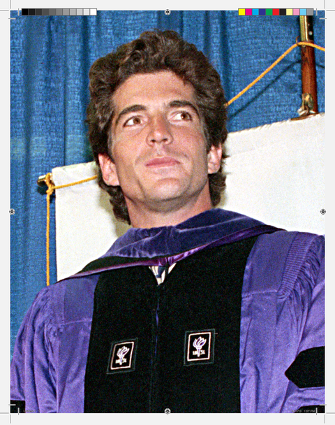 After Kennedy graduted from NYU School of Law in 1989, he worked worked as an assistant district attorney.