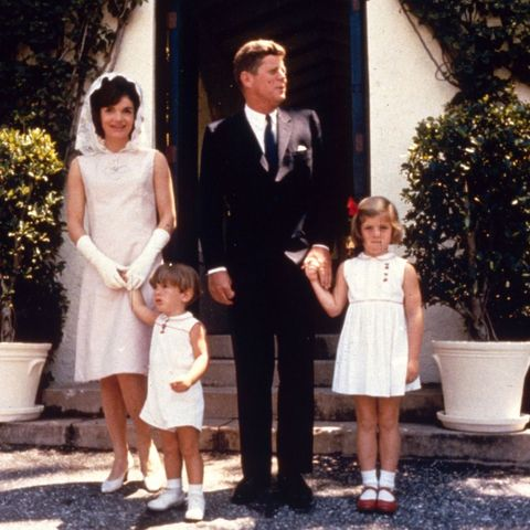 kennedys at easter mass