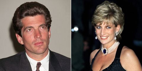 here s what really happened when jfk jr met princess diana