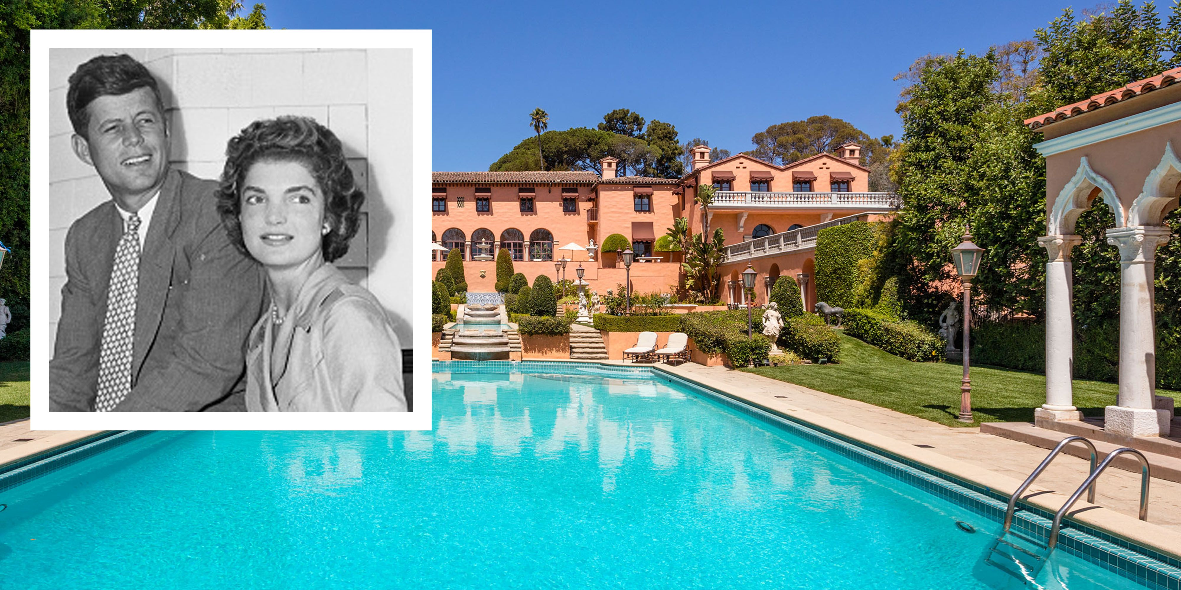 47e629ecc5 The Beverly House Estate Where JFK and Jackie Kennedy Honeymooned is Listed  for $135 Million