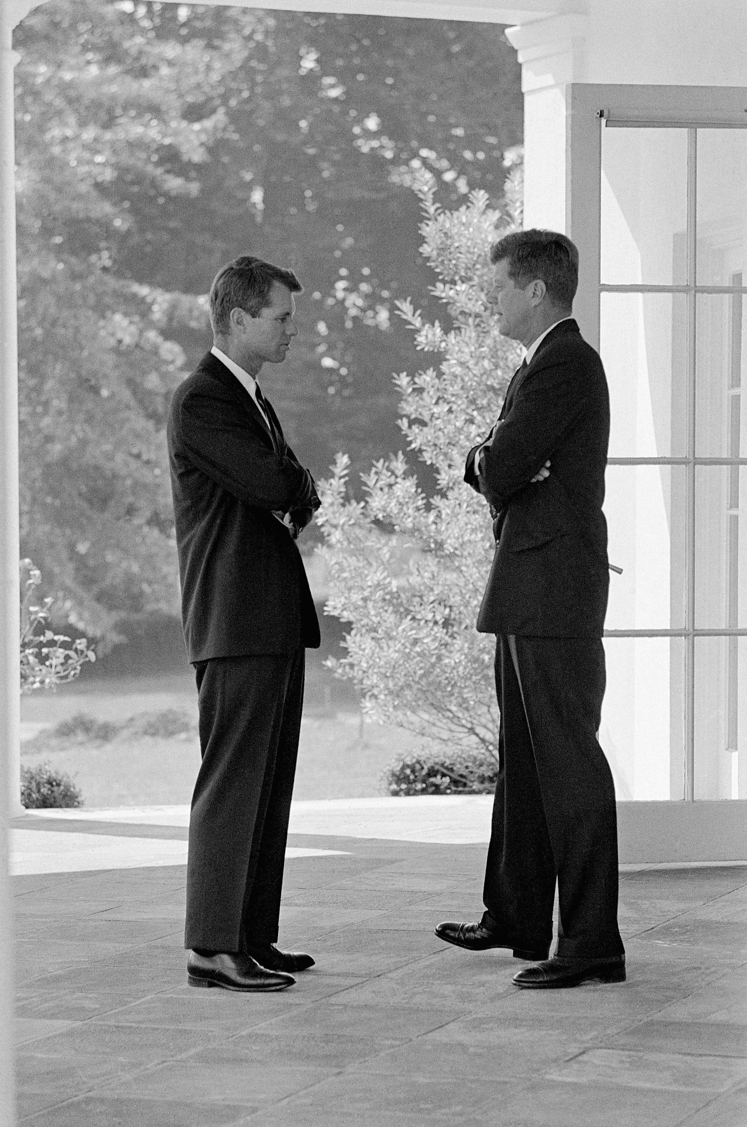 Bobby Kennedy Jack Kennedy White House