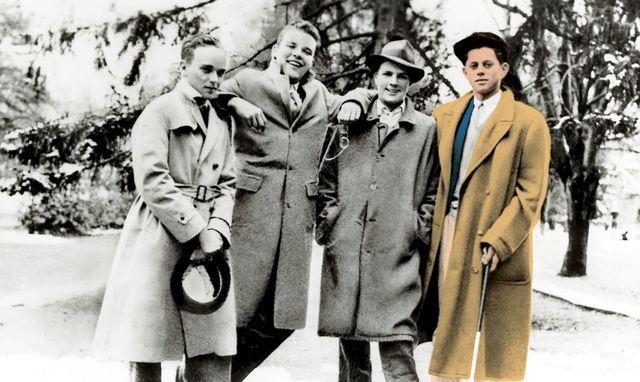 John F Kennedys Life At Choate Rosemary Hall Jfks