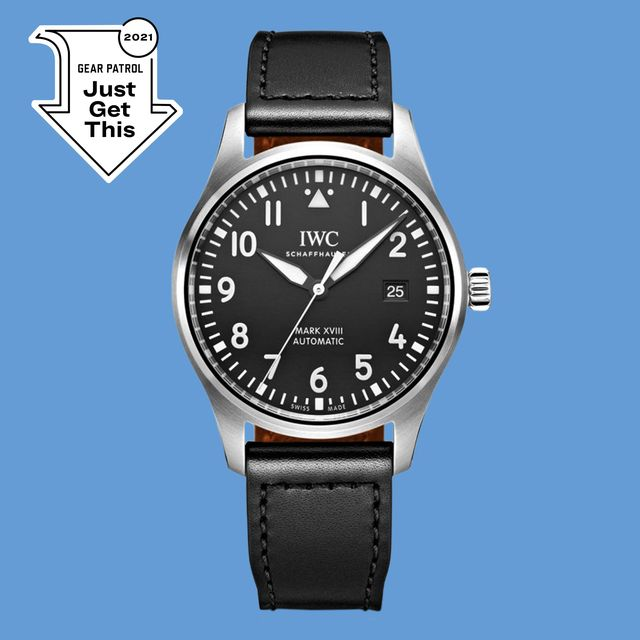 iwc mk xviii black watch