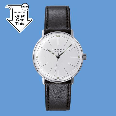 junghans max bill handwinding watch