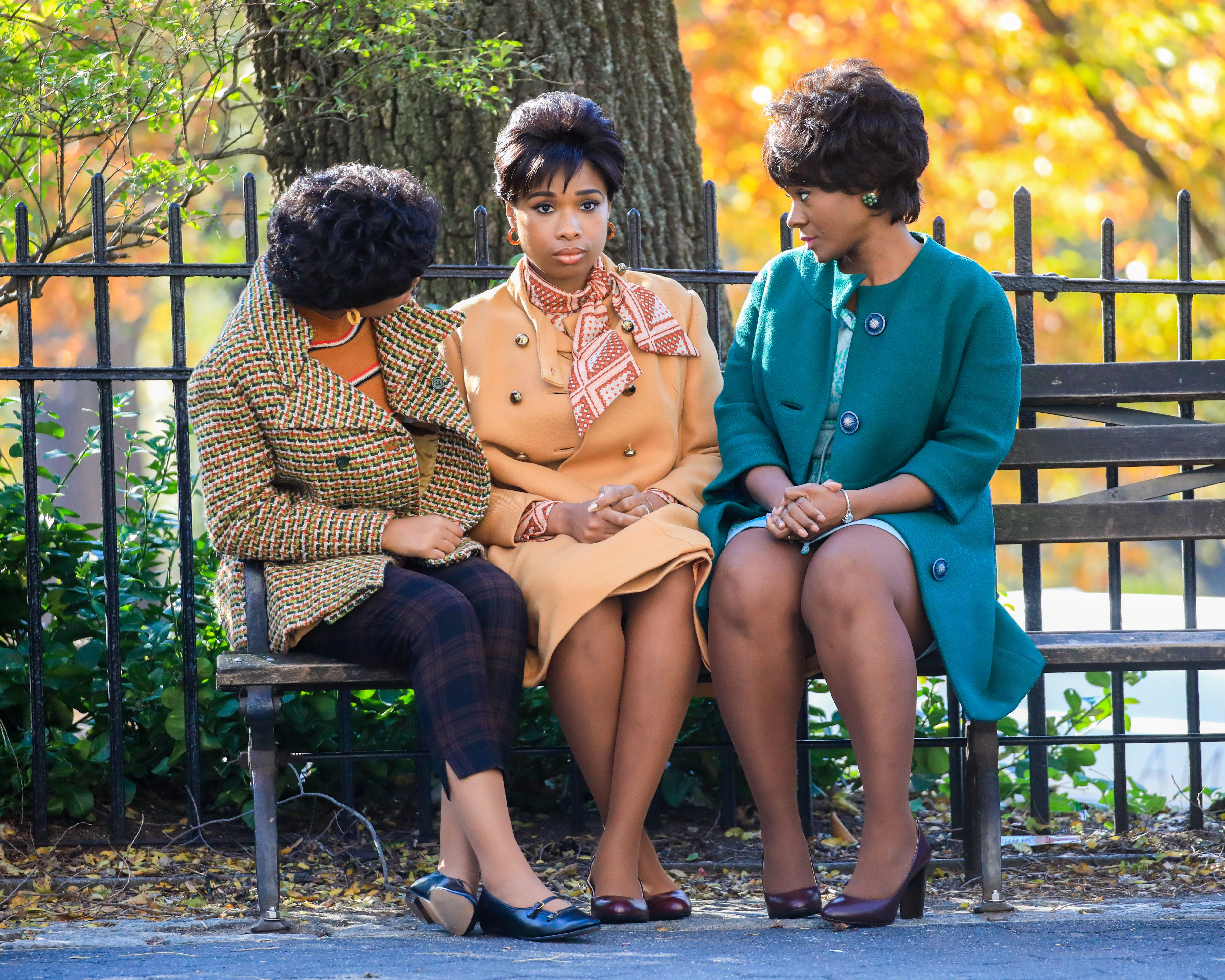Jennifer Hudson Already Looks so Much Like Aretha Franklin for the Respect Movie