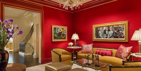 Lighting, Interior design, Room, Flowerpot, Living room, Furniture, Table, Interior design, Ceiling, Couch,