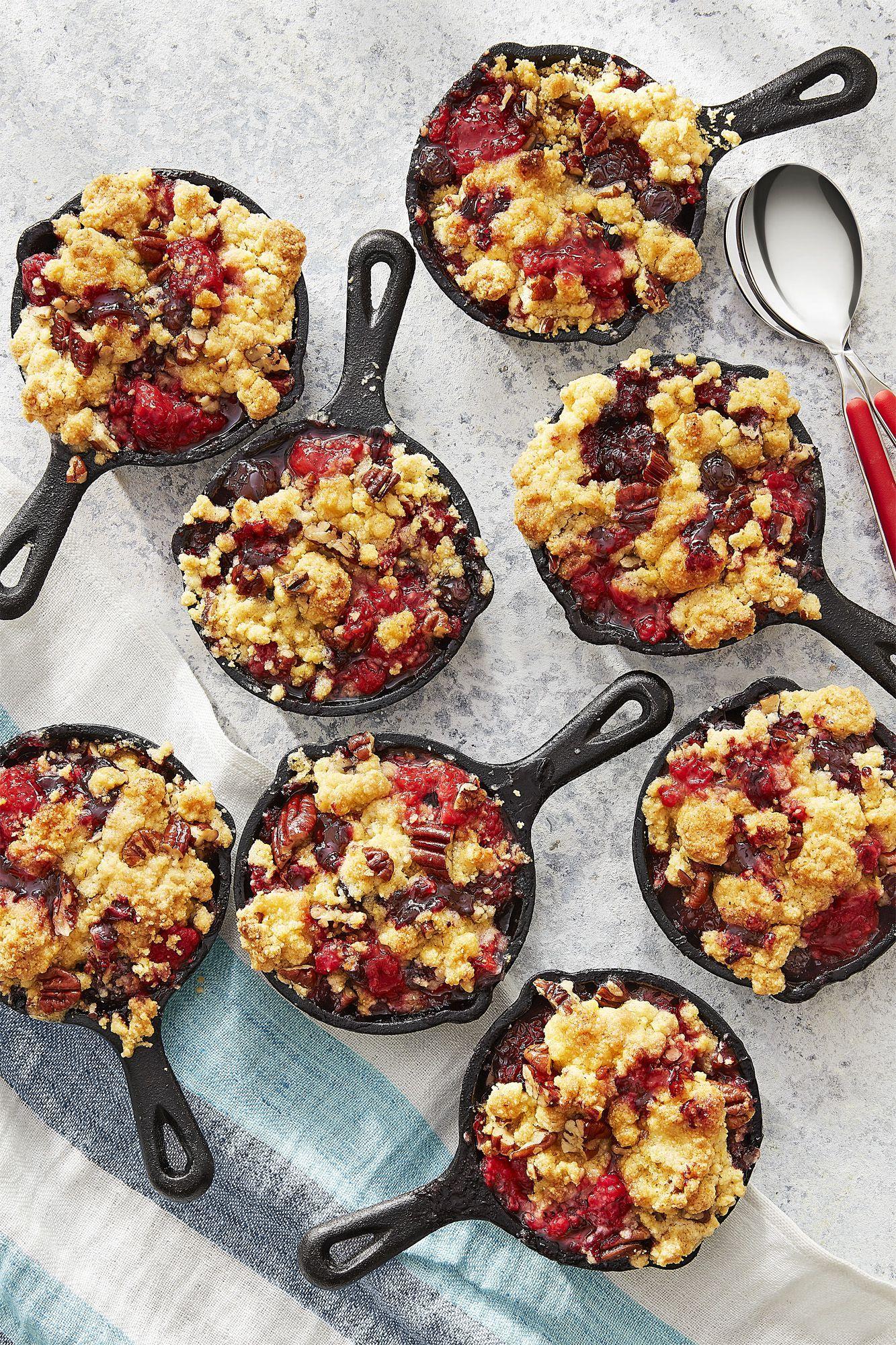 jiffy mixed berry cornmeal cobbler