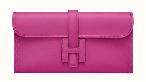 Hermès Jige Elan 系列 Swift 小牛皮手拿包,NT.119,600