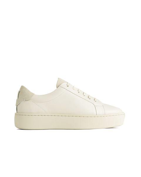 rayla leather flatform trainer £110