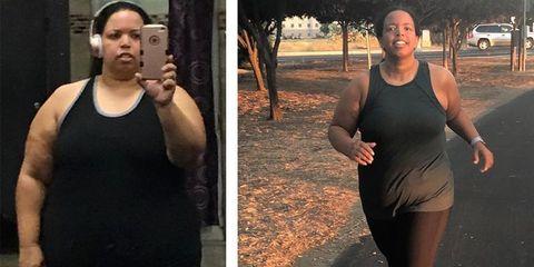 Jill Hoffman before and after weightloss