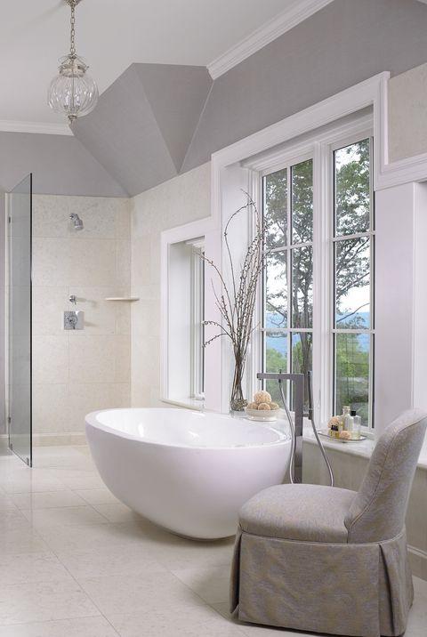 Room, Bathroom, Interior design, Property, Floor, Building, Furniture, House, Home, Tile,