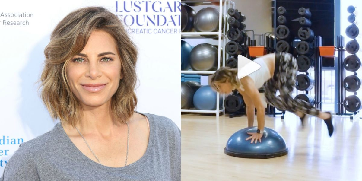 Jillian Michaels Just Shared 3 Bosu Ball Exercises for an Insanely Good Full-Body Workout