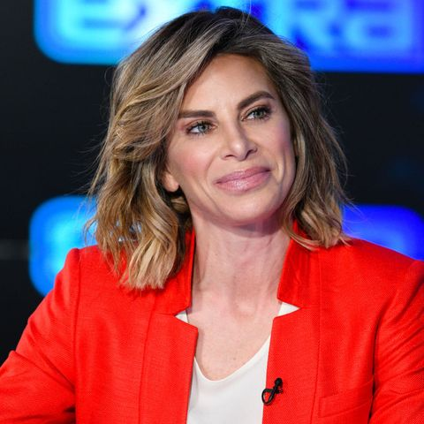 """Rob Lowe And Jillian Michaels Visit """"Extra"""""""