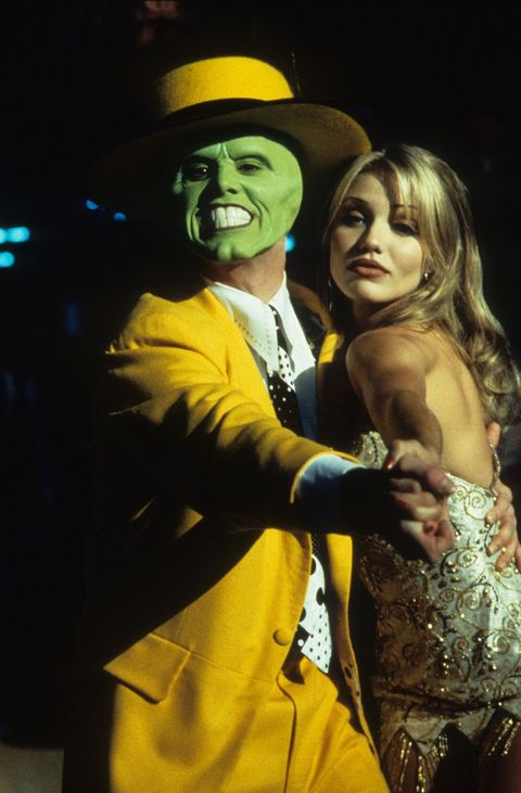 Jim Carrey And Cameron Diaz In 'The Mask'