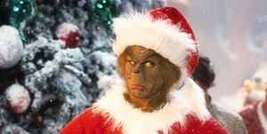 christmas movie  Jim Carrey Stars As The Grinch The Green Monster Who Disguises Himself As Santa Claus An
