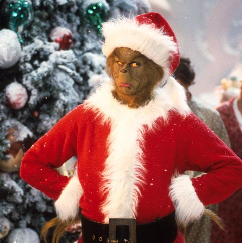 christmas movieJim Carrey Stars As The Grinch The Green Monster Who Disguises Himself As Santa Claus An