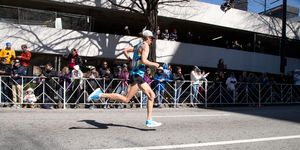 Jim Walmsley at the Olympic Marathon Trials in Atlanta in 2020.