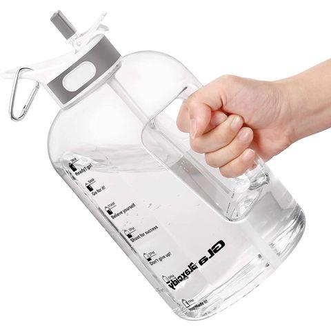 waterfles rietje handvat bpavrij fles water drinken tijdmarkeringen