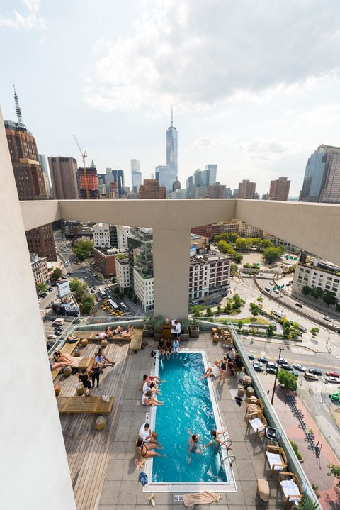 Rooftop Pools Open To Public