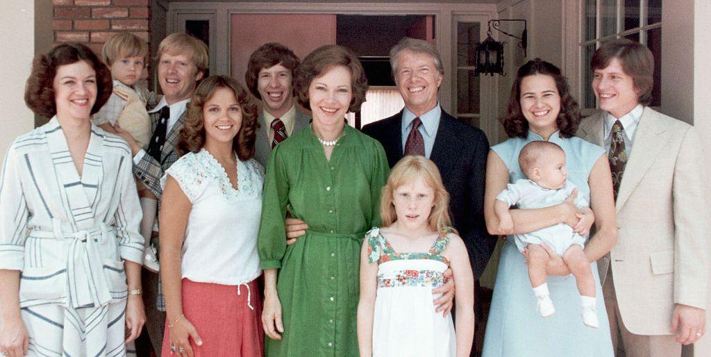 A List Of Jimmy Carter S Children And Grandchildren Jimmy Carter Kids Facts