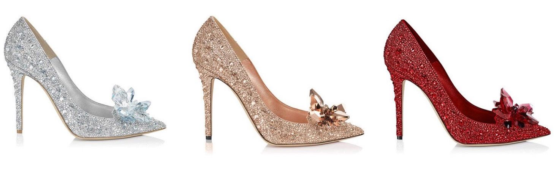 Jimmy choo cinderella shoes