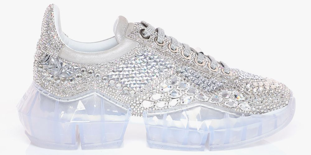 Jimmy Choo Is Selling Sneakers Covered in Diamonds, So Can Someone Lend Me $3,995?