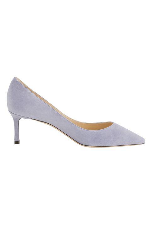 Footwear, Court shoe, Shoe, High heels, Leather, Beige, Suede,