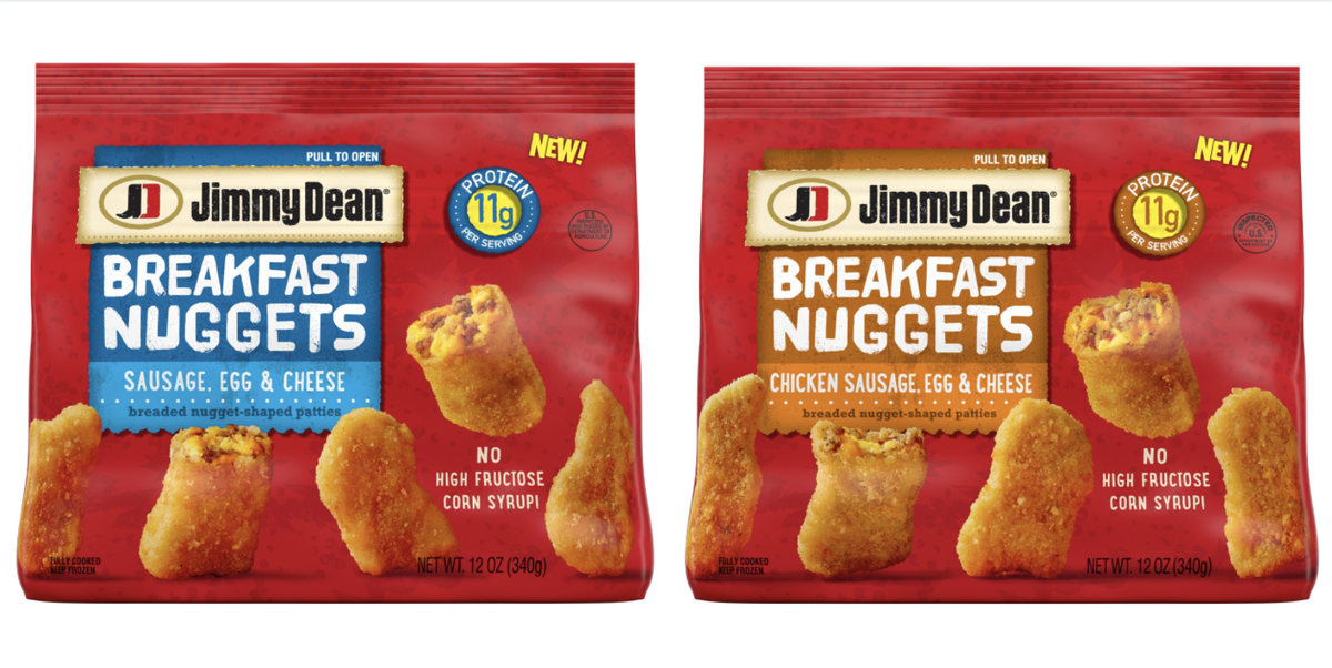 Jimmy Dean Has New Sausage, Egg, And Cheese Nuggets That Will Change Your Morning Routine