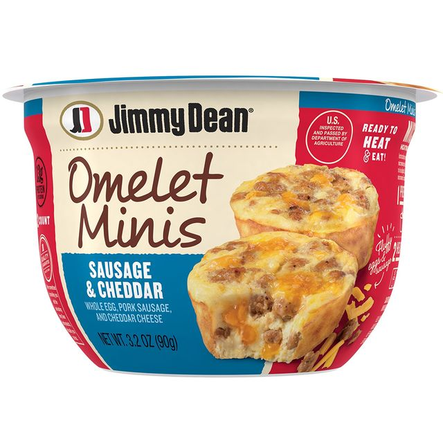 jimmy dean omelet minis and loaded sausage bites