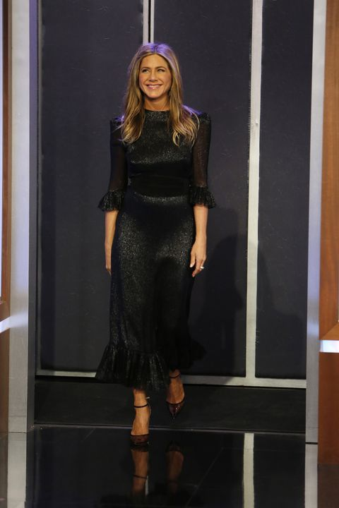 fd674c1de697 ABC's 'Jimmy Kimmel Live' - Season 16. Randy HolmesGetty Images. Jennifer  Aniston is turning 50 ...